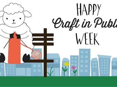 Happy Knit in Public Week 2014