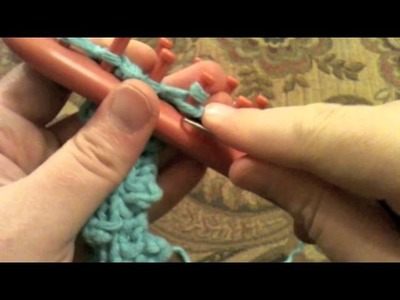 How to Make a Bobble Stitch on a Loom