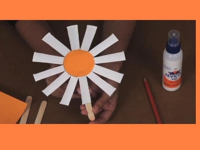 How to make a Papercup Flower - Arts and Crafts