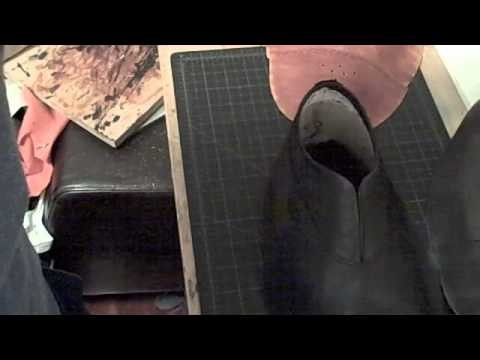 How to Make a Shoe by Hand, Part 5 : Lining and topbeading