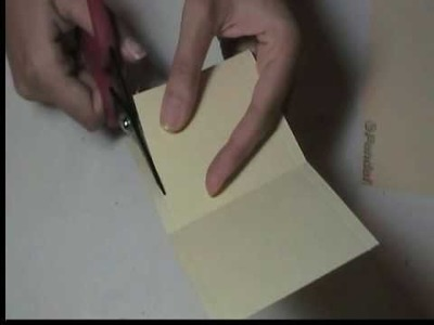 How to make mini album pockets {By: Marion}