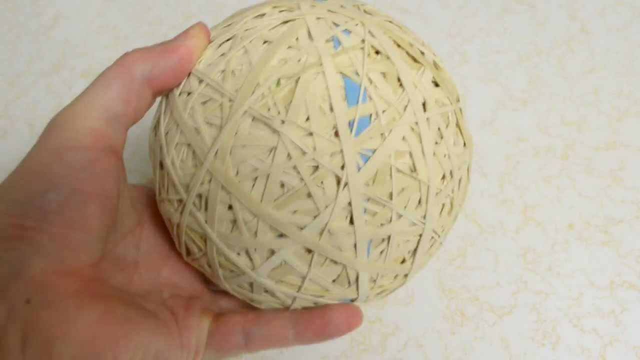 How to Make or Start a Rubber Band Ball