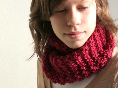 Knitting video pattern - Souffle Cowl
