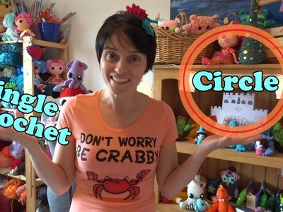 Learn To Crochet - The Basics! Single Crochet into a Cinch Circle!