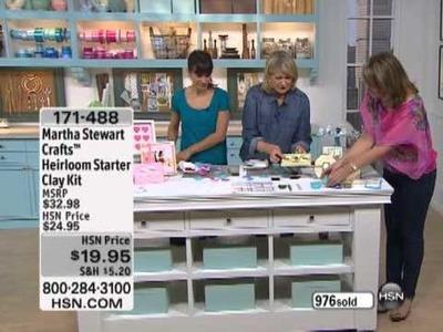 Martha Stewart Crafts Heirloom Starter Clay Kit