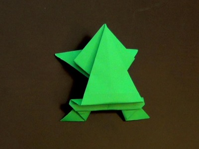 Origami Jumping Frog How to make an origami frog