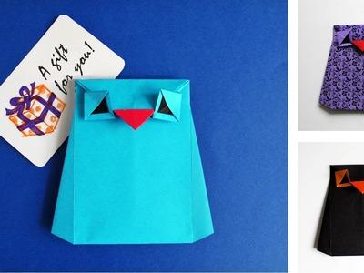 Origami Owl Tutorial - Buho de papel