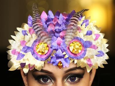 Owl Mask Headdress ♥ DIY
