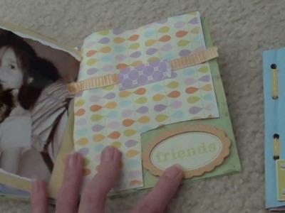 Paperbag Mini Album Scrapbooking with Kids