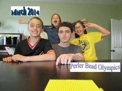 Perler Bead Olympics March 2014!!