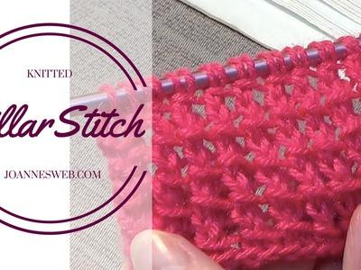 Pillar Stitch | Knitting Stitch