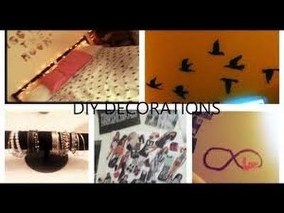 Room Decorating Ideas - Door Art - ways to spice up your room + DIY Decorations