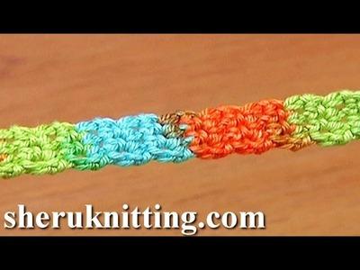 Simple Cord Crochet Tutorial 20 Single Crochet Stitches
