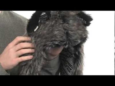 SpiritHoods HB3 Washable Headphones Mystic Wolf Knit Full Hood  SKU:#8095113