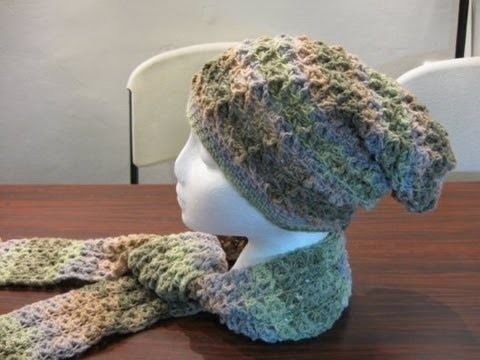 Starfish Stitch Slouch Hat - Crochet Tutorial - New Crochet Stitch