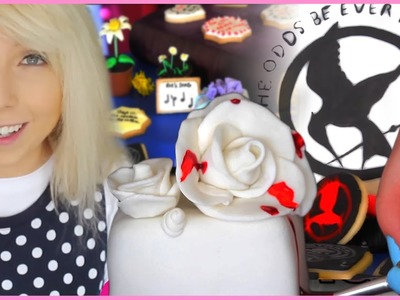 The Hunger Games: Mockingjay Themed DIY Cake and Treats By BananaJamana! Castle Kitchen Ep. 3