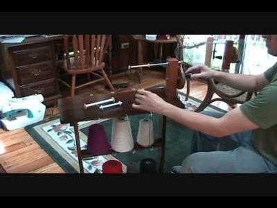 The Knit Store's Shuttle Bobbin Winder