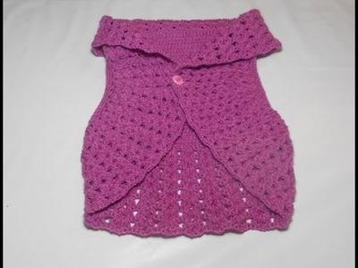 Tutorial Uncinetto Bolero Parte 2 Ganchillo Bolero Crochet Bolero