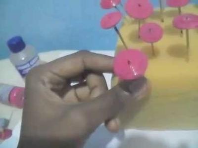 Varnish on paper beads-Tutorial