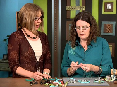 1902-2 Learn how to wire wrap bangle bracelets with Barb Switzer on Beads, Baubles & Jewels