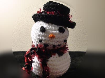 Crochet Geek Frozen Snowman