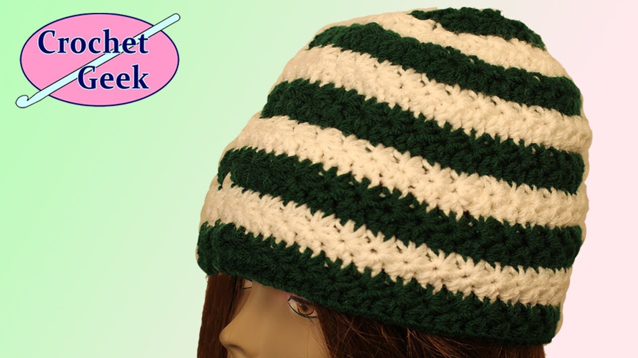 Crochet Star Stitch Hat Crochet Geek