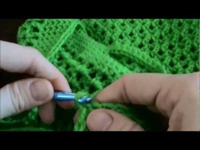 Crochet Tutorial Produce Tote Bag - Left Hand Version