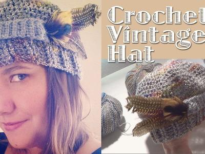 Crochet Vintage Cap - Free Pattern
