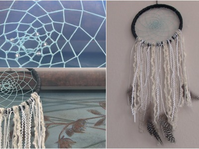 DIY Dream Catcher. SoCraftastic - Room Decor How To