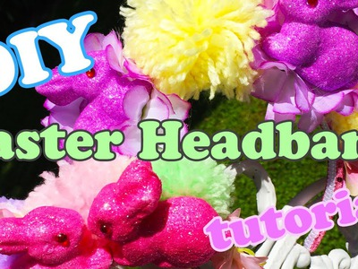 DIY Easter Headband Tutorial - Chrissa Sparkles