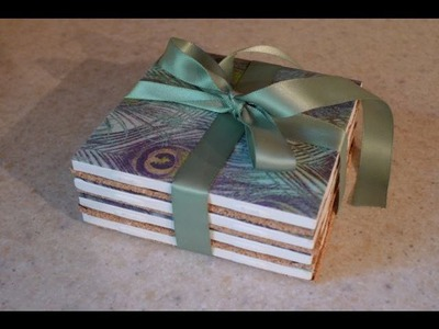 DIY Gift: Tile Coasters