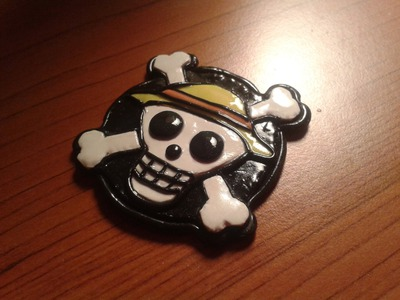 DIY: Polymer clay Tutorial One Piece Logo!