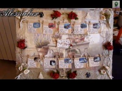 DIY -tutorial tableau matrimonio fai da te + segnatavoli o segnaposti invitati Gioielli fai da te