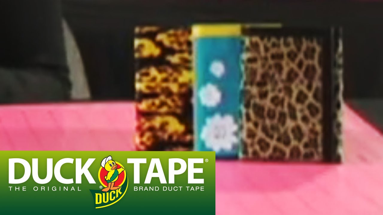 Duck Tape Craft Ideas: How to Make a Tri Fold Wallet