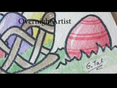 Easter Eggs You tube Video - Eggs Decorating Ideas Crafts To Color