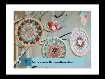 Fair Handmade Christmas Decorations