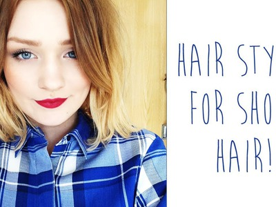 Hair styles for SHORT HAIR | tinytwisst