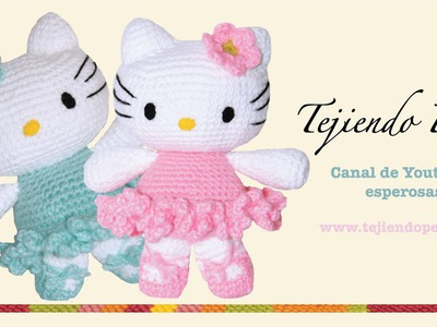 Hello Kitty tejida a crochet (amigurumi)  Parte 7: acabados