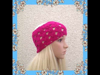 How to Crochet Earwarmers. Headband Pattern #15 │by ThePatterfamily