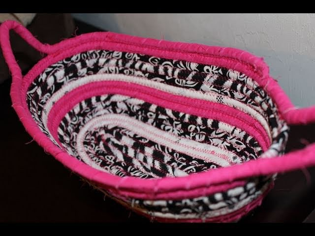 How to make a Fabric Basket.Bowl