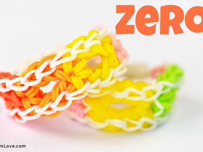 How to Make a Rainbow Loom Zero Bracelet