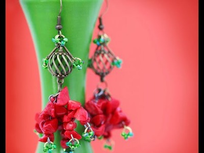 How to Make Earrings with Beads