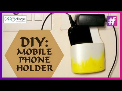 How To Make Mobile Phone Holder | DIY Tutorial