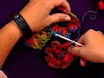 Learn How to Make More Crochet Motifs with Red Heart Yarns