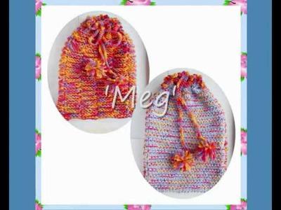 Meg Reversible Hot Water Bottle Cover Pyjama Case Bag Chunky Yarn Knitting Pattern