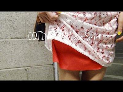 OOTD & DIY Lace Skirt