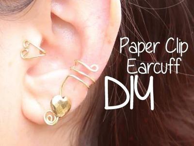 Paperclip Ear Cuff ♥ DIY