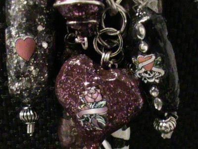 Plastic grocery bag beads