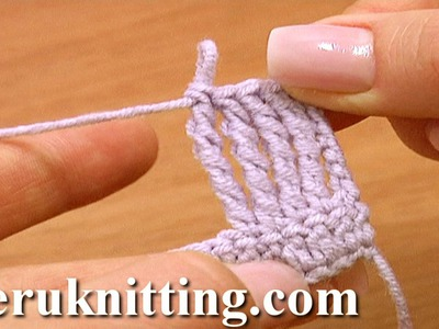Quadruple Treble Crochet Stitch Crochet Basics Tutorial 13