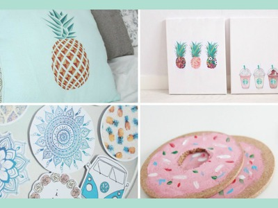 Spring.Summer DIY Room Decor #SABONVIDEOS | Sabrina Putri